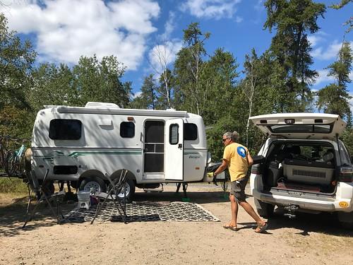 Rushing River - campsite