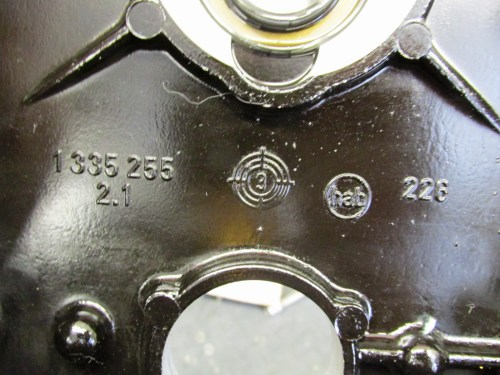 Inner Timing Cover Casting Marks Below Crankshaft Seal