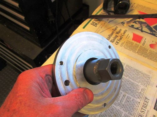 Cycle Works Puller Nose Inserted in Puller Plate