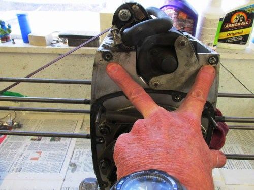 """Location of Inner Timing Cover """"Doughnut"""" Gaskets"""