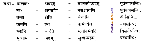 UP Board Solutions for Class 8 Sanskrit Chapter 15 गीतावचनामृतानि 1