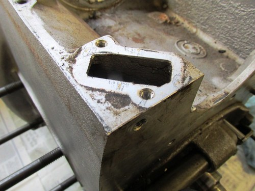 Crankcase Breather Cavity Detail