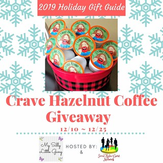 Crave Hazelnut Flavored Coffee Pods Review @SMGurusNetwork #MySillyLittleGang #HGG19
