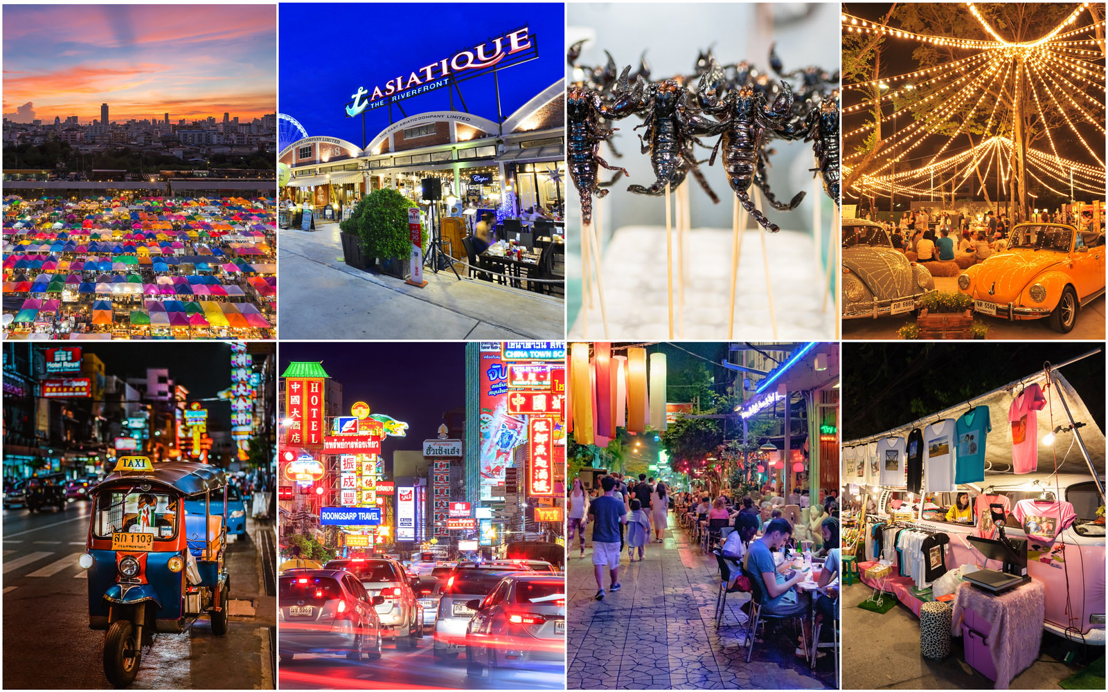 曼谷夜市 Bangkok night markett