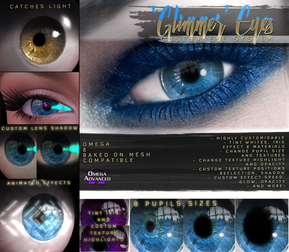 -Birth- 'Glimmer' Custom Eyes System Advert