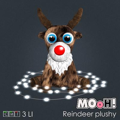Reindeer plushy