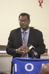 Minister of Public Security and Chairman of the Ministerial Taskforce for Trafficking in Persons, Hon. Khemraj Ramjattan