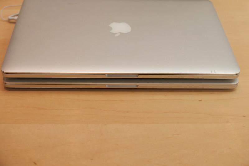 MacBook Pro 15inch, 16inch 2013, 2019 comparison 04