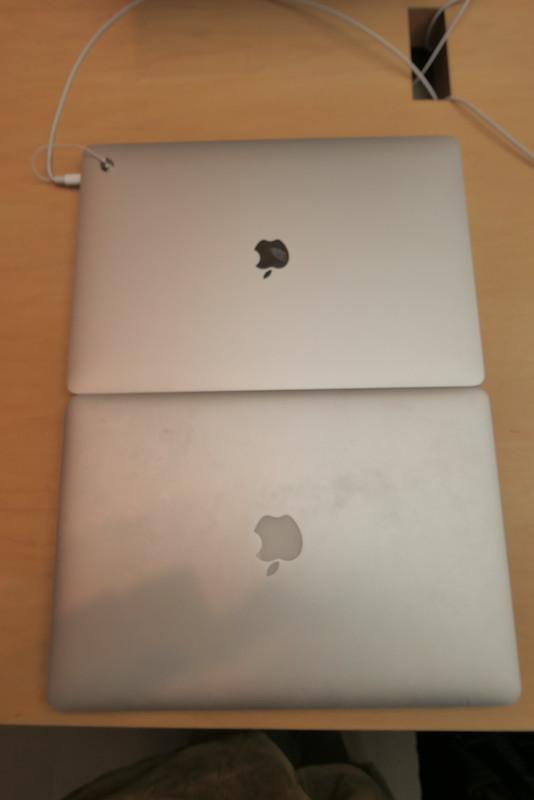 MacBook Pro 15inch, 16inch 2013, 2019 comparison 03
