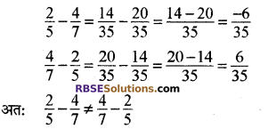 RBSE Solutions for Class 8 Maths Chapter 1 परिमेय संख्याएँ In Text Exercise-12d