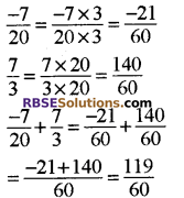 RBSE Solutions for Class 8 Maths Chapter 1 परिमेय संख्याएँ In Text Exercise-02f