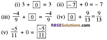 RBSE Solutions for Class 8 Maths Chapter 1 परिमेय संख्याएँ In Text Exercise-16a