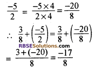 RBSE Solutions for Class 8 Maths Chapter 1 परिमेय संख्याएँ In Text Exercise-02d
