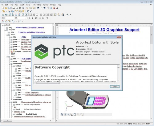 Working with PTC Arbortext Editor 7.1 M060 full