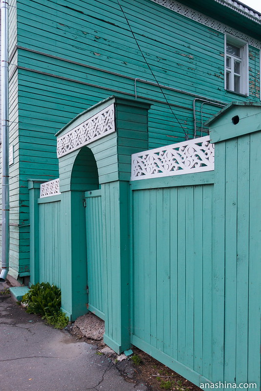 Вологда, деревянное зодчество