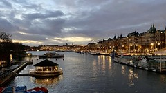 Stockholm in twilight