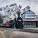 Pere Marquette 1225 Locomotive-Carland Michigan