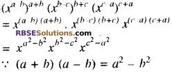 RBSE Solutions for Class 8 Maths Chapter 3 घात एवं घातांक Additional Questions L2A