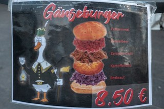 Gänseburger deconstructed