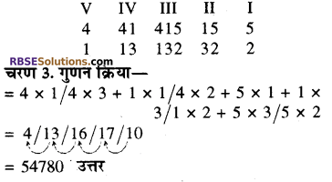 RBSE Solutions for Class 8 Maths Chapter 5 वैदिक गणित Additional Questions 2F7