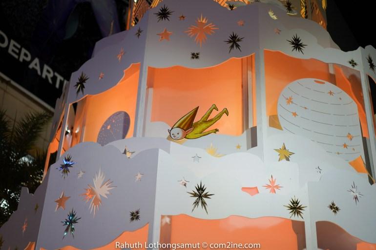 ถ่ายไฟคริสต์มาส ถ่ายไฟปีใหม่ 2020 - Paragon พารากอน