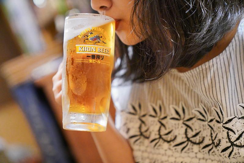【臺北美食】kirin 一番搾 隱居風味居酒屋 一番搾 絕配套餐 