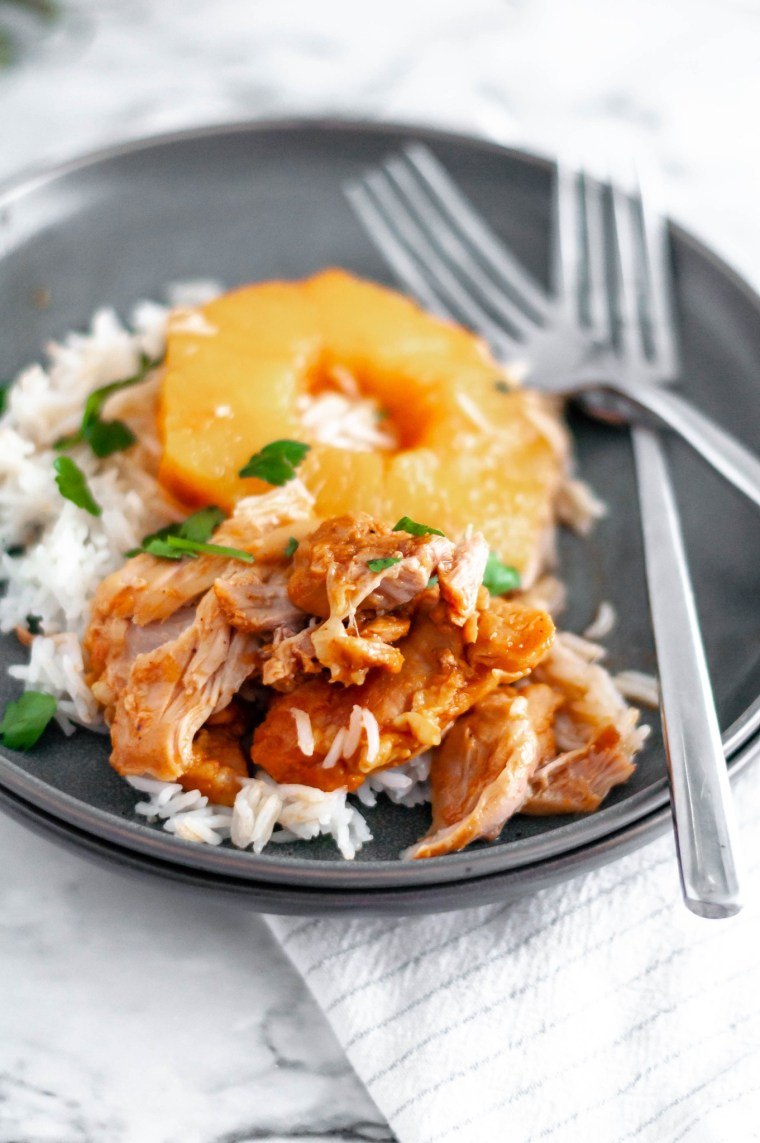 Pineapple BBQ Instant Pot Chicken is a great weeknight option.