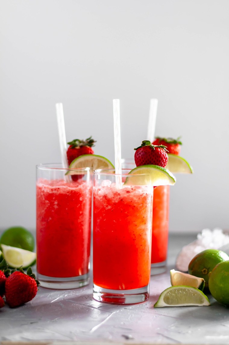 Just as delicious as the real deal, this Copycat Sonic Strawberry Limeade is the perfect, refreshing beverage.