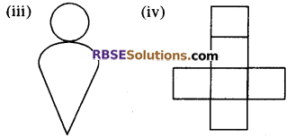 RBSE Solutions for Class 8 Maths Chapter 8 ठोस आकारों का चित्रण Ex 8.2 Q3a