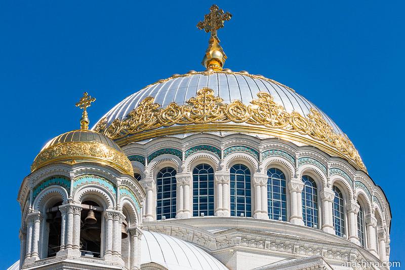 Купол Морского Никольского собора, Кронштадт