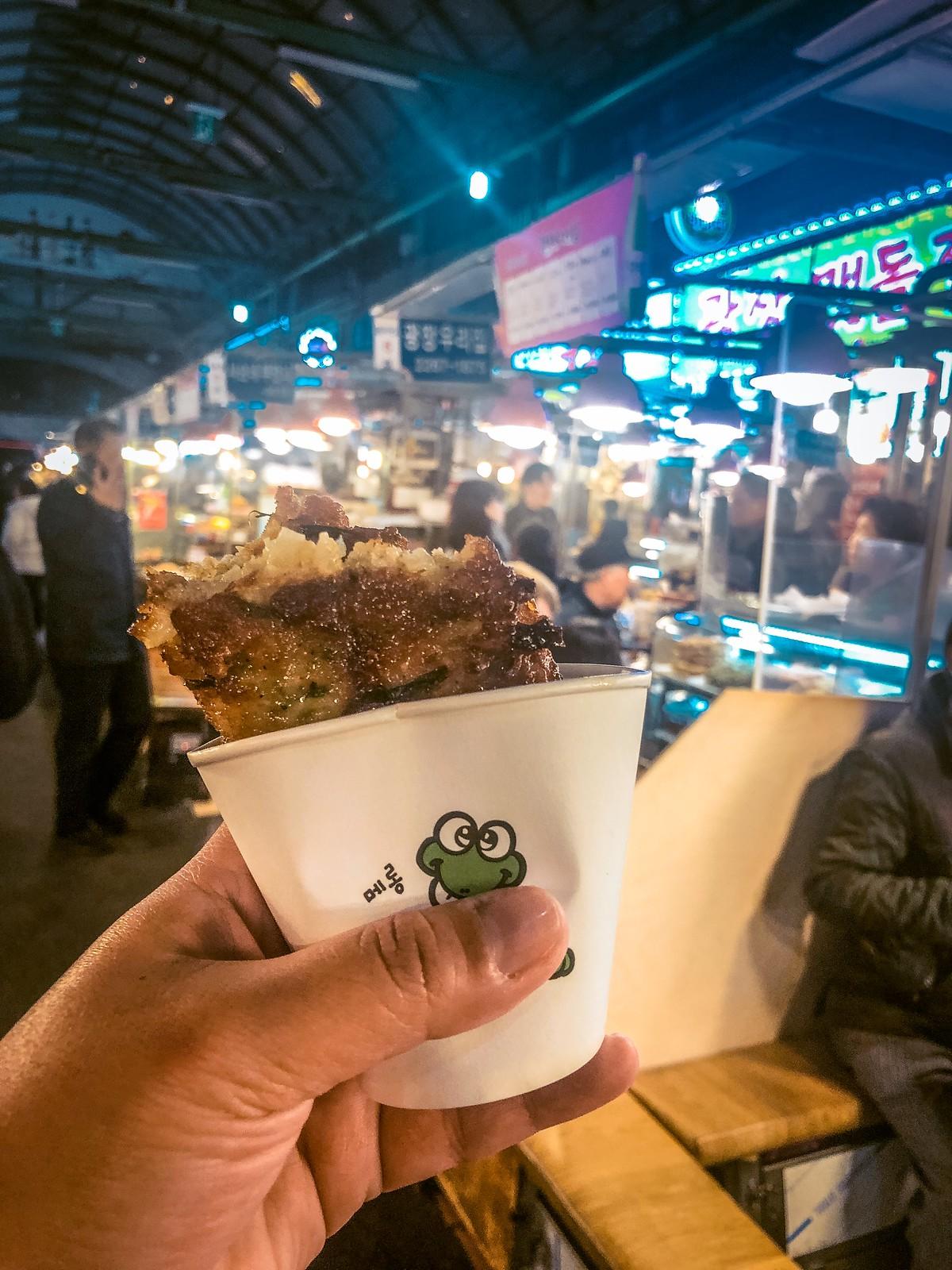 Bindae-tteok   Things to eat in Korea