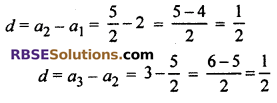 RBSE Solutions for Class 10 Maths Chapter 5 Arithmetic Progression Ex 5.1 3