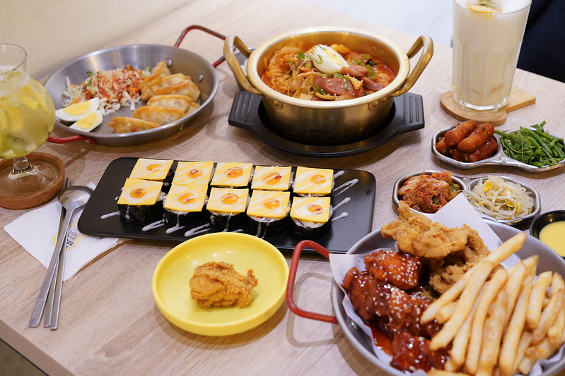 【臺北美食】瑪妮年糕鍋|道地韓國風味|部隊鍋|平價韓國料理