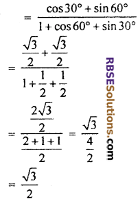 RBSE Solutions for Class 10 Maths Chapter 6 Trigonometric Ratios Ex 6.1 19
