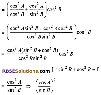 RBSE Solutions for Class 10 Maths Chapter 7 Trigonometric Identities Ex 7.1 41