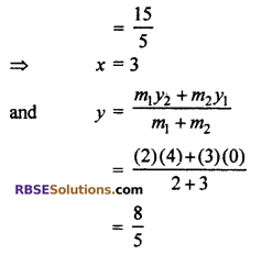 RBSE Solutions for Class 10 Maths Chapter 9 Co-ordinate Geometry Miscellaneous Exercise 7