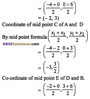 RBSE Solutions for Class 10 Maths Chapter 9 Co-ordinate Geometry Ex 9.2 17