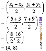 RBSE Solutions for Class 10 Maths Chapter 9 Co-ordinate Geometry Miscellaneous Exercise 27