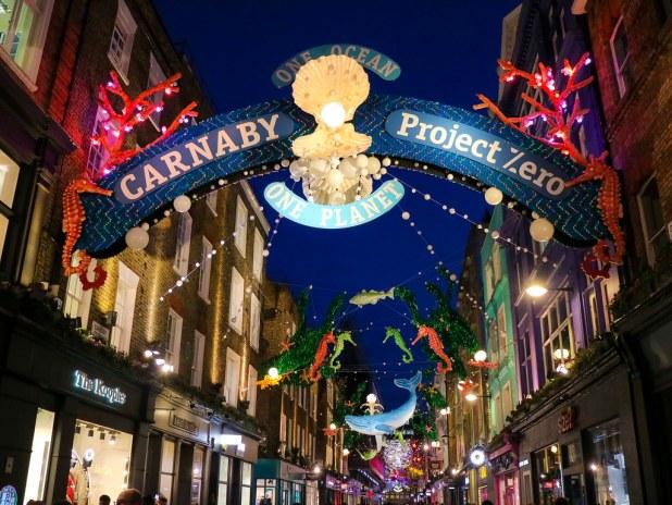 Decoración Carnaby Street 2019