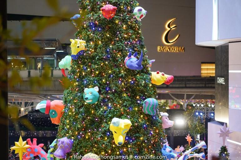 ถ่ายไฟคริสต์มาส ถ่ายไฟปีใหม่ 2020 - Emporium Emquartier เอ็มโพเรี่ยม