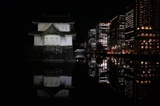 the Imperial Palace illumination