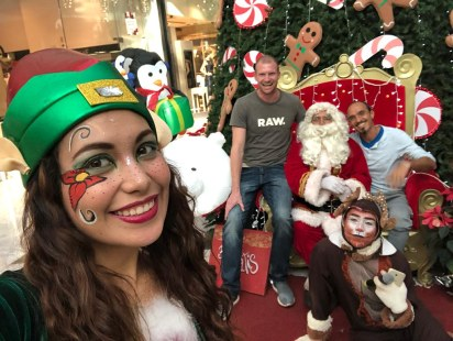 Santa Claus in CDMX
