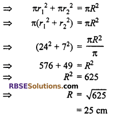 RBSE Solutions for Class 10 Maths Chapter 15 Circumference