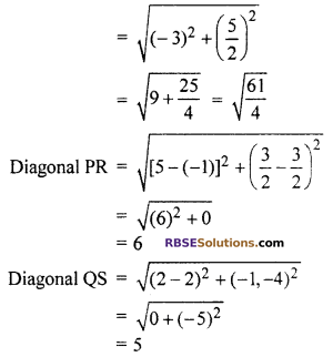 RBSE Solutions for Class 10 Maths Chapter 9 Co-ordinate Geometry Additional Questions 51