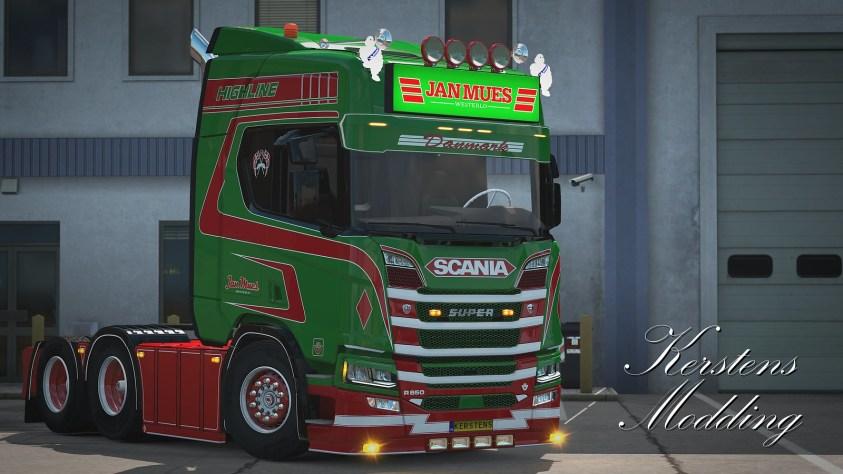 Jan Mues Scania R650