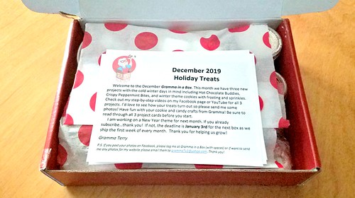 December Gramma In A Box Unboxing #MySillyLittleGang #GrammaInABox #subscriptionbox