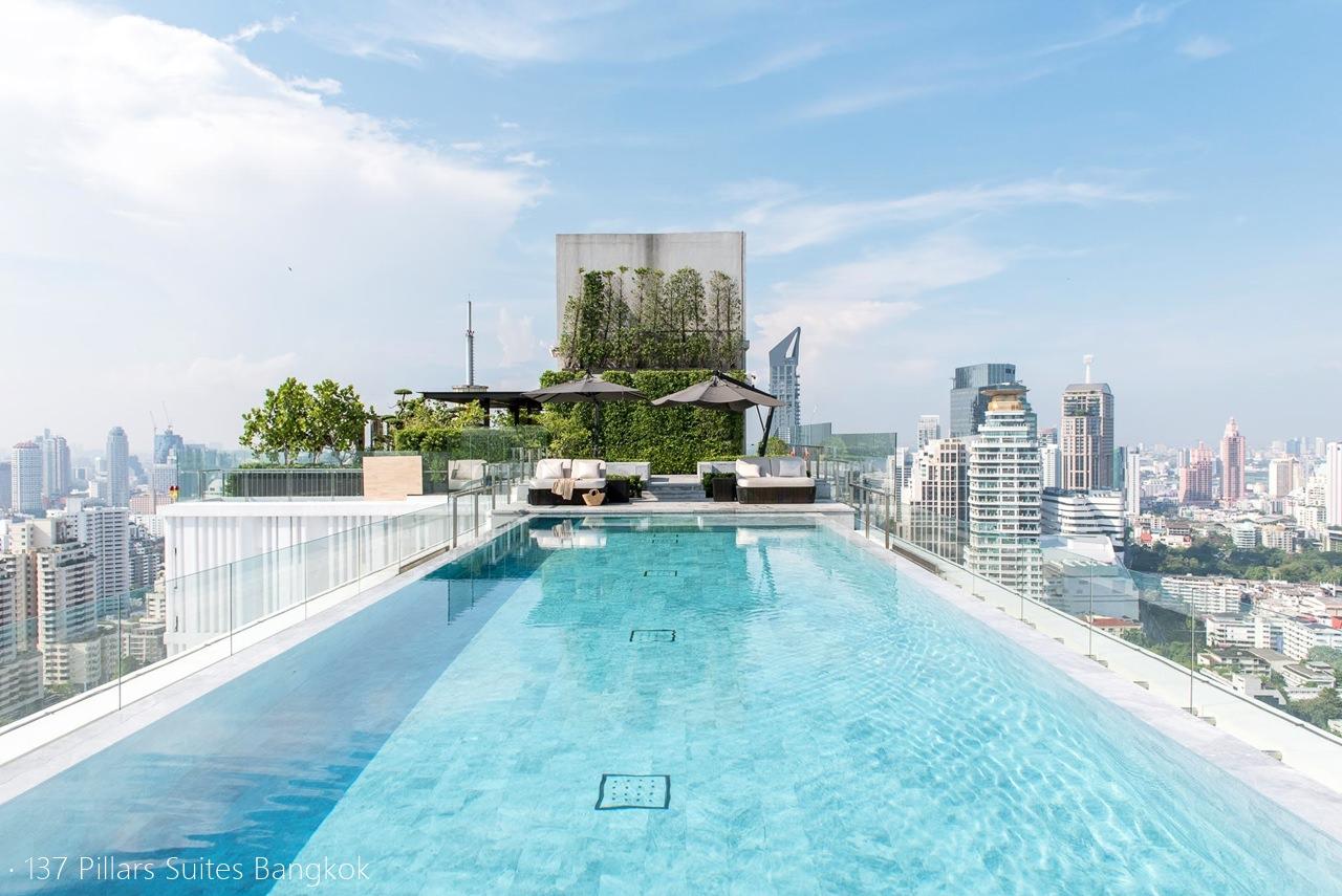 曼谷無邊際泳池飯店