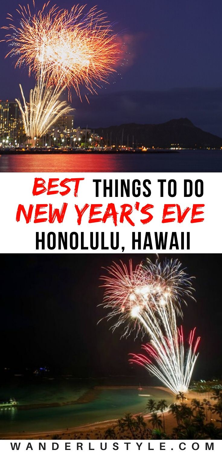 BEST THINGS TO DO FOR NEW YEAR'S EVE IN HAWAII!