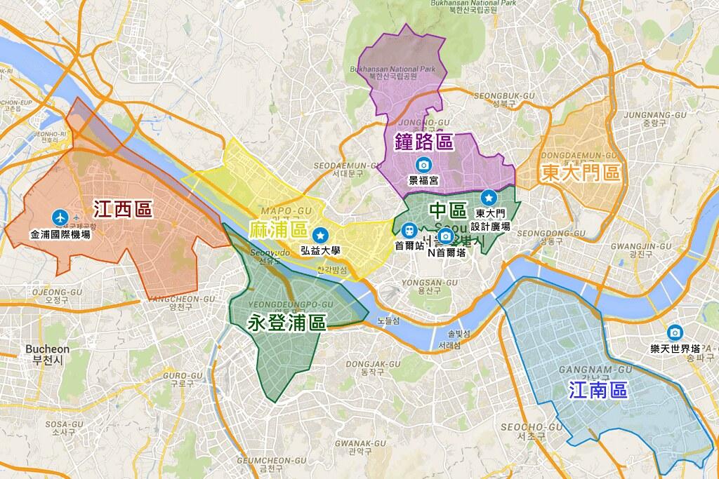 Seoul Map