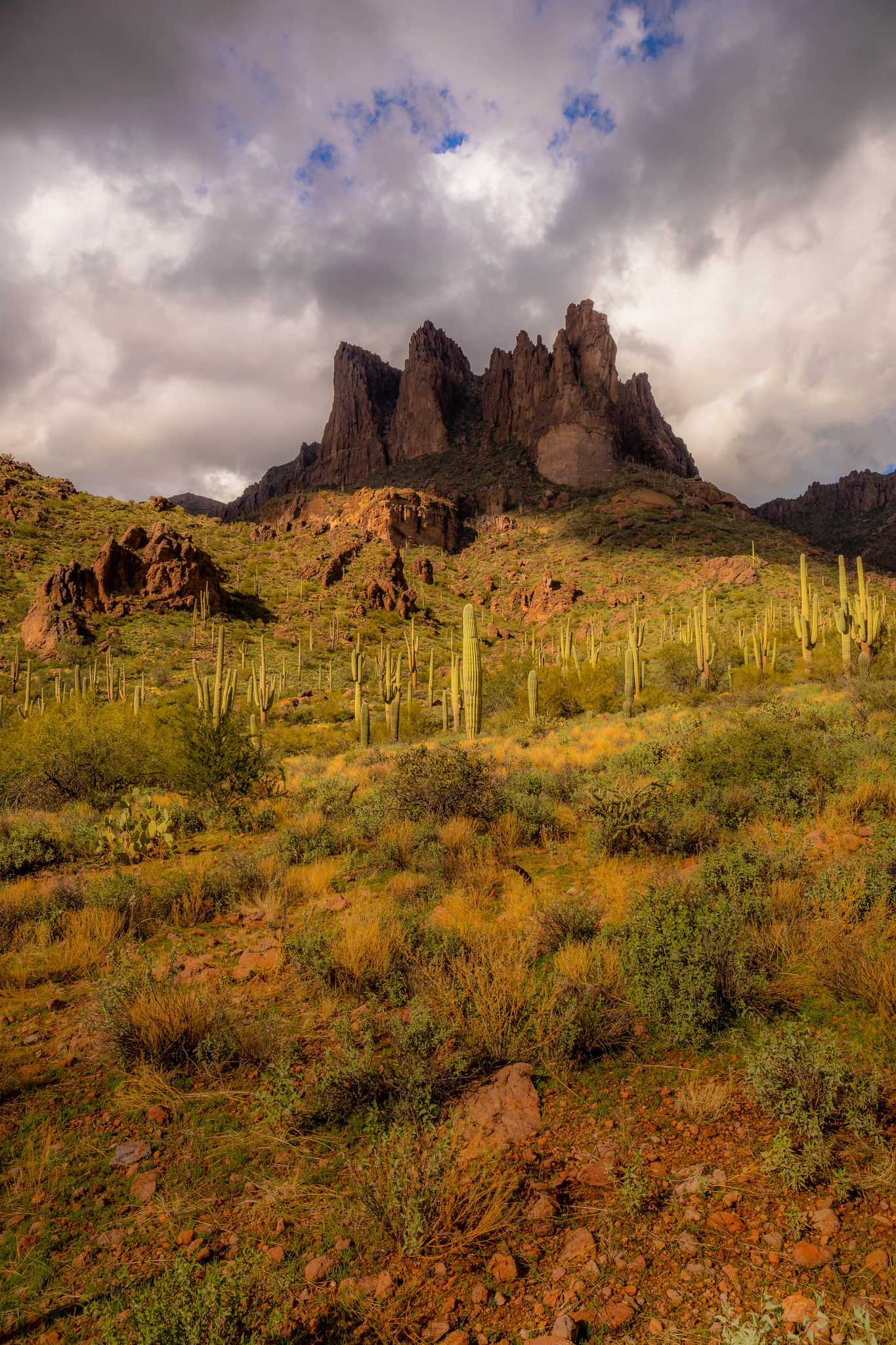 12.28. Superstition Mountain, AZ